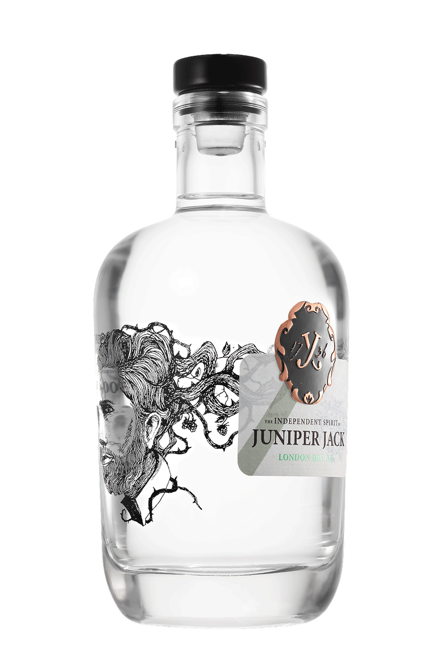 JUNIPER JACK - London Dry Gin (46,5 % vol., 500 ml)